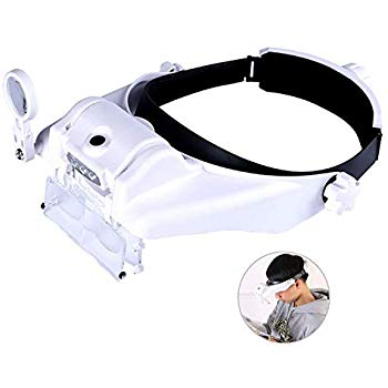 Best Lighted Head Magnifying