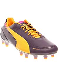 PUMA Mens EvoSPEED Firm Ground Cleats Athletic & Sneakers Purple