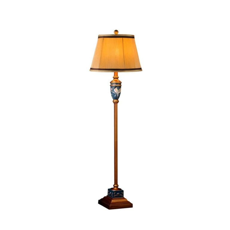 All About Vintage Floor Lamp