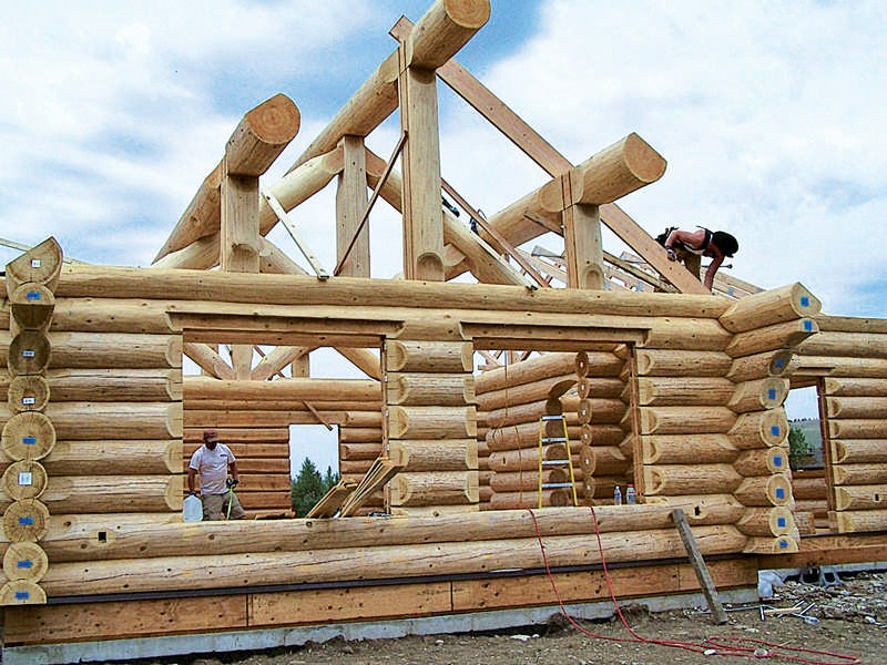 Benefits of Making Your Ridge House a Log House