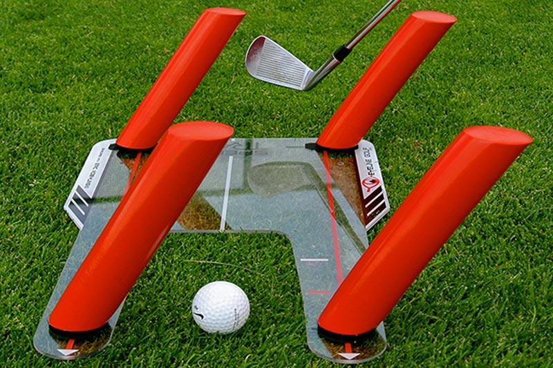 Golf Training Aid For Swing Plane
