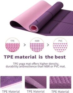 Which yoga mats material