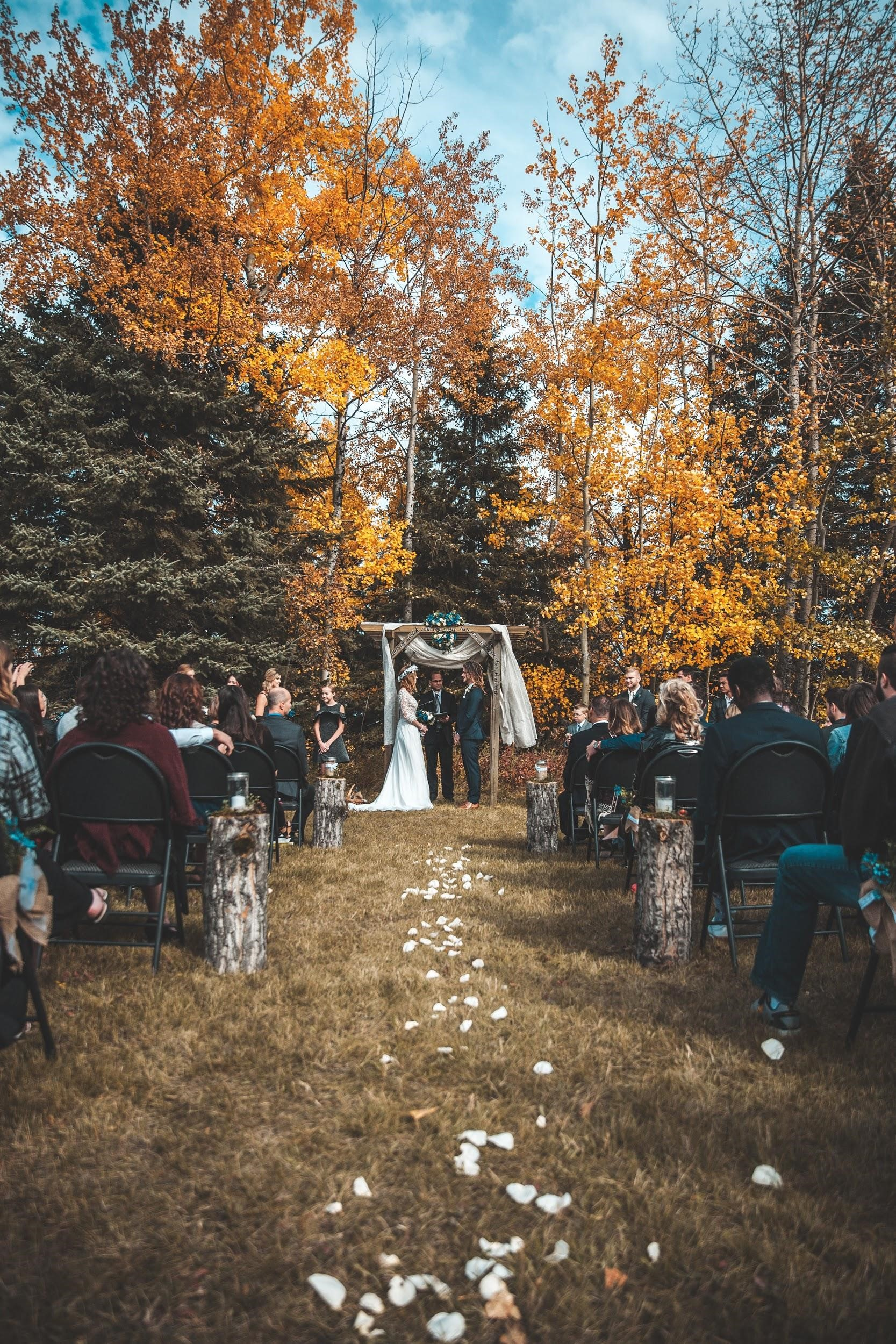 Wedding Dresses for Fall Brides