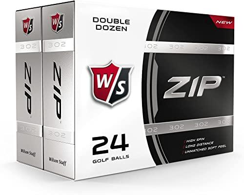 Wilson Staff Zip Golf Balls 24-Ball Pack